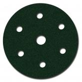 Disco Libre De Polvo Green Corps Hookit de 3M, 6 pulgadas, grano 80
