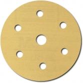 Disco Dorado Libre de Polvo Hookit de 3M, 236U, 6 pulgadas, grano P80