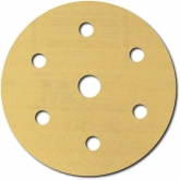 Disco Dorado Libre de Polvo Hookit de 3M, 216U, 6 pulgadas, grano P320