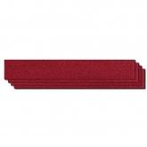 Tira Abrasiva Roja Hookit de 3M, grano 220, 2 3/4 pulgadas X 16 1/2 pulgadas