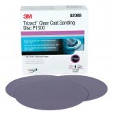 Disco de Lijar para Capa Transparente Trizact Hookit de 3M, 6 pulgadas, grano p1500