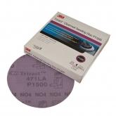 Disco de Lijar para Capa Transparente Trizact™ Hookit, 3 pulgadas, grano P1500