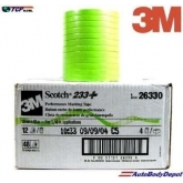 "233+ Masking tape .006 X 55 M ¼"" ancho"